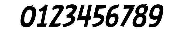 ABFlockHeadline Italic Font OTHER CHARS
