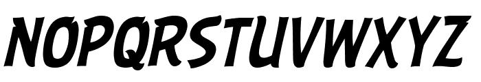ABFlockHeadline Italic Font UPPERCASE