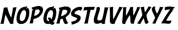 ABFlockHeadline Italic Font LOWERCASE