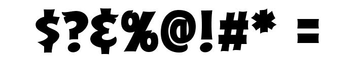ABFlockPoster Regular Font OTHER CHARS