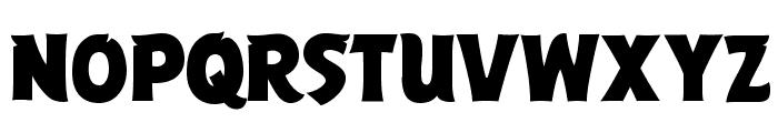 ABFlockPoster Regular Font UPPERCASE