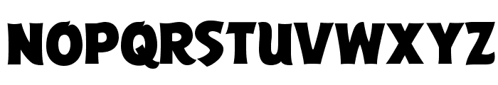 ABFlockPoster Regular Font LOWERCASE