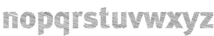 ABebedera-Heavy Font LOWERCASE