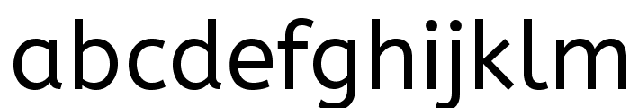 ABeeZee-Regular Font LOWERCASE