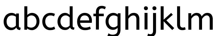 ABeeZee Font LOWERCASE
