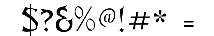 Abagail Regular Font OTHER CHARS