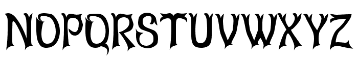 Abagail Regular Font UPPERCASE