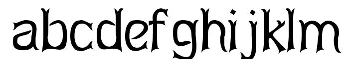 Abagail Regular Font LOWERCASE