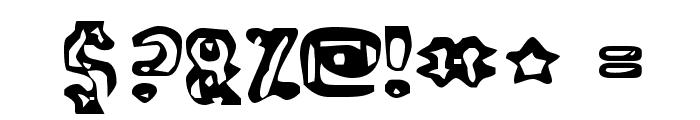 Abandoned Bitplane Font OTHER CHARS