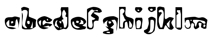 Abandoned Bitplane Font LOWERCASE
