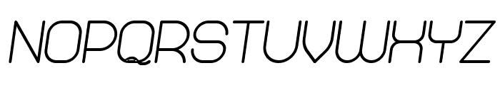 Abandoned Bold Italic Font UPPERCASE