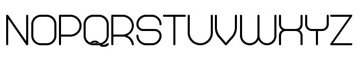 Abandoned Bold Font LOWERCASE