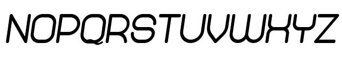 Abandoned Heavy Italic Font UPPERCASE