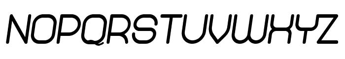 Abandoned Heavy Italic Font LOWERCASE