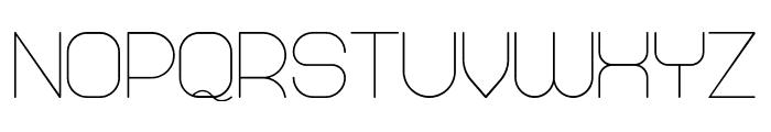 Abandoned Regular Font UPPERCASE