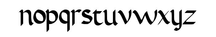AbbasyCalligraphyTypeface Font LOWERCASE