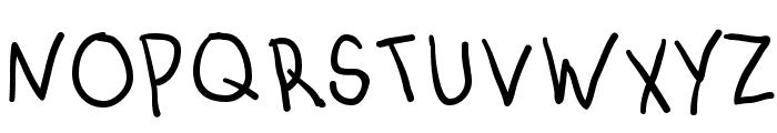 AbcKids Font UPPERCASE