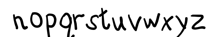 AbcKids Font LOWERCASE