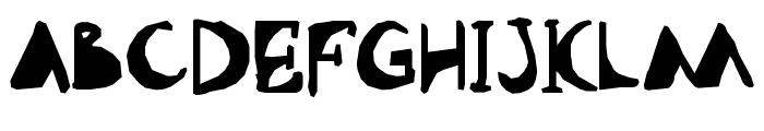 Abdomentality Font UPPERCASE