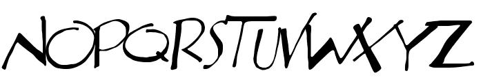 Aberration Font LOWERCASE