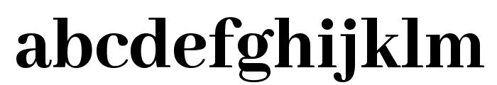 Abhaya Libre ExtraBold Font LOWERCASE
