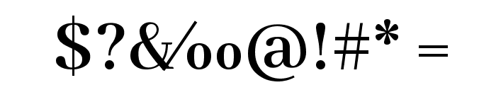 Abhaya Libre SemiBold Font OTHER CHARS