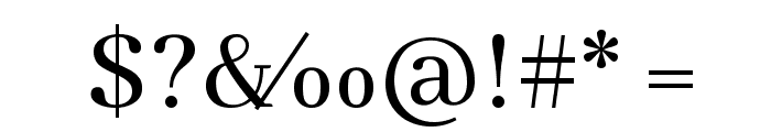 Abhaya Libre Font OTHER CHARS