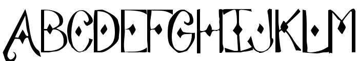 Abode Font UPPERCASE
