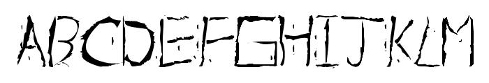 About Dead Font LOWERCASE