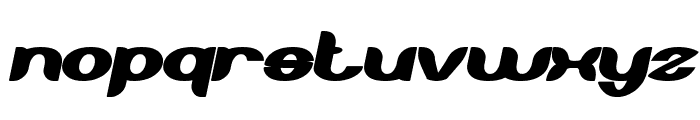 About you Bold Italic Font LOWERCASE