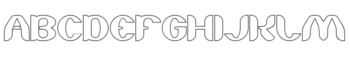 About you-Hollow Font UPPERCASE
