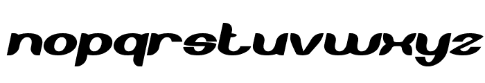 About you Italic Font LOWERCASE