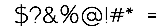 Above DEMO Regular Font OTHER CHARS