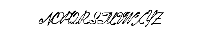 AboveStars Font UPPERCASE