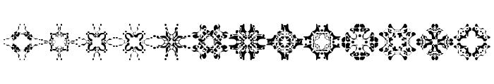 Abracadabra1 Font LOWERCASE