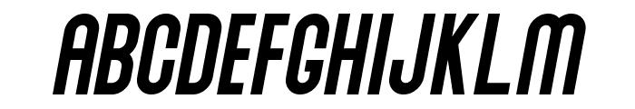 Abraham Italic Italic Font UPPERCASE