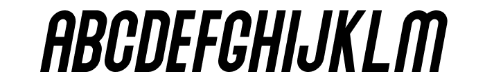 Abraham Italic Italic Font LOWERCASE