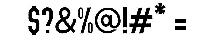 Abraham Rough Rough Font OTHER CHARS
