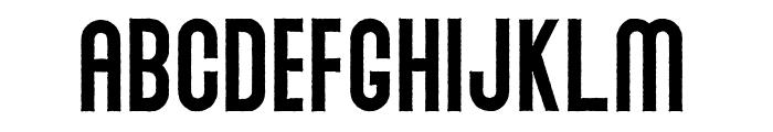 Abraham Rough Rough Font UPPERCASE
