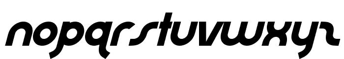 AbraxeousExtraThinItalic Font LOWERCASE