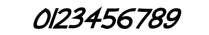 Abscissa Bold Italic Font OTHER CHARS