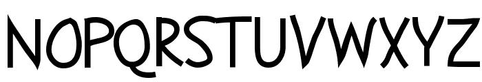 Abscissa Font UPPERCASE
