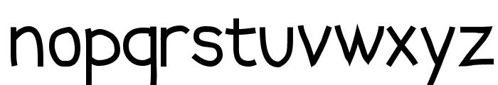 Abscissa Font LOWERCASE