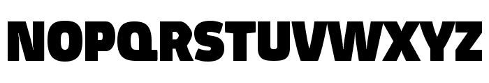 Absolut Pro Black reduced Font UPPERCASE