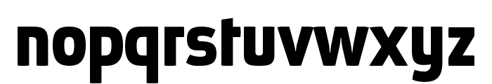 Absolut Pro Bold reduced Font LOWERCASE