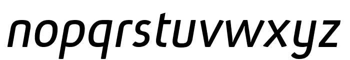 Absolut Pro Book Italic reduced Font LOWERCASE