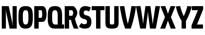 Absolut Pro Condensed Bold reduced Font UPPERCASE