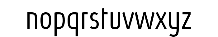 Absolut Pro Condensed Light reduced Font LOWERCASE