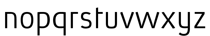 Absolut Pro Light reduced Font LOWERCASE