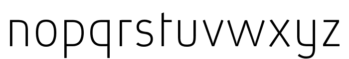 Absolut Pro Thin reduced Font LOWERCASE